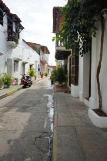 Stadtviertel Getsemani - typisches Straßenbild