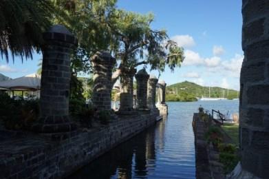 UNESCO Weltkulturerbe - Nelson_s Dockyard Museum - Gartenanlage