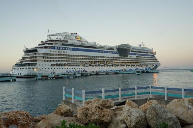 Aida im Hafen von Ochio Rios