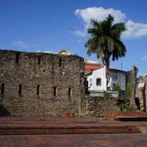 Panama City - Altstadt - Casco Viejo - Alte Mauern