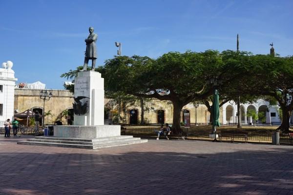 Panama City - Altstadt - Casco Viejo - Plaza de Francia