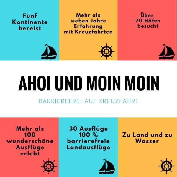 Ahoi und Moin Moin - Kreuzfahrt Erfahrung