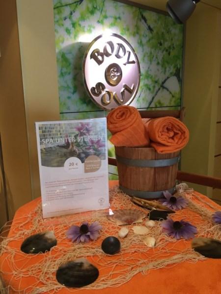 AIDAmar - Eingang zum Body & Soul Spa