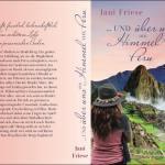 Cover und Buchrücken von Jani Frise - ...und über uns der Himmel von Peru - #LamaLoveParade