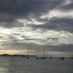 Insel Virgin Gorda am Hafen