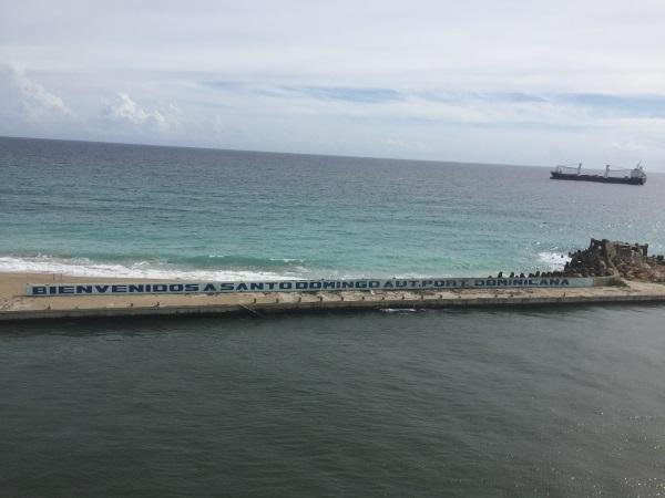 Hafenausfahrt Santo Domingo