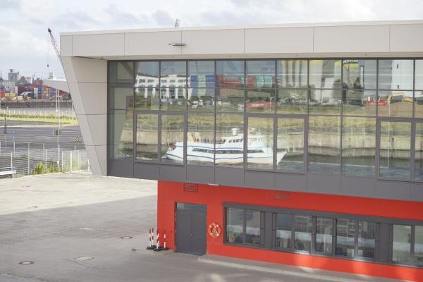Hamburg Steinwerder Hafenterminal Seeseite