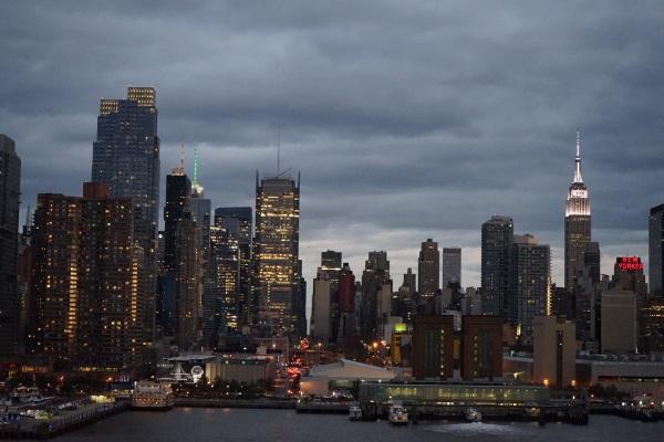 New York - der Abend zieht über die Stadt