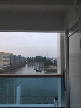 Rotterdam Blick auf den Hafen