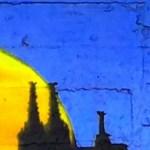 Sonnenuntergang mit Kölner Dom - Denkmal Edelweißpiraten