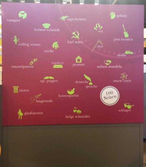 Buchmesse Stand von Reclam