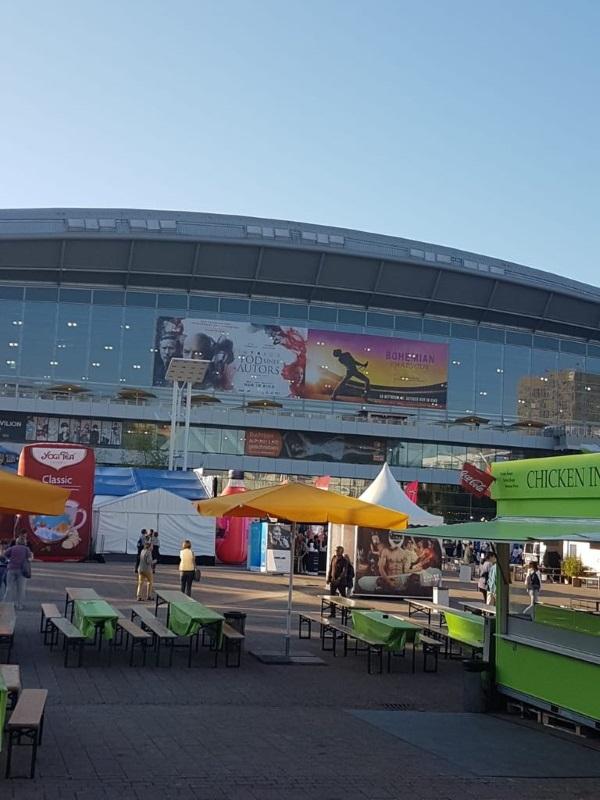 Frankfurter Buchmesse Halle 3.0 und 3.1
