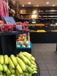 Markt Ausflug - am Obst- und Gemüsestand