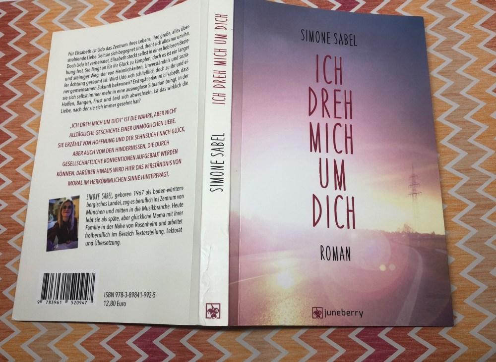Umschlag und Cover - ICH DREH MICH UM DICH von Simone Sabel