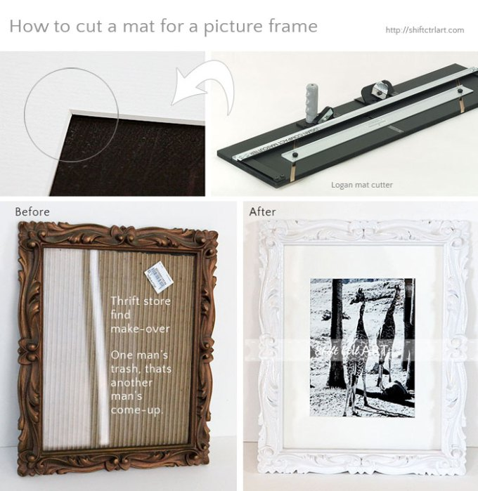 How To Cut A Mat For Picture Frame Viewframes Co