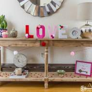 Easy DIY Valentine's Projects