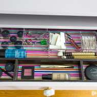 How to Create Your Own Pretty Shelf or Drawer Liner