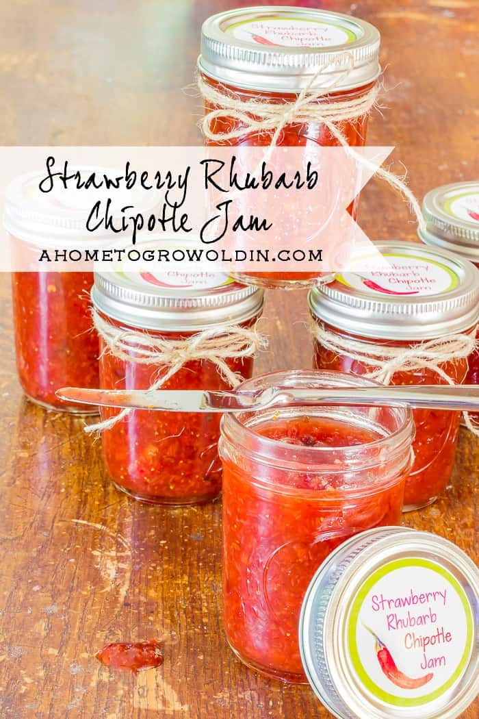 This is the most incredible jam! I can't believe how easy it is to make! It goes great on chicken or pork and is perfect served over cream cheese with crackers for an appetizer! Once it's in a jar with the printable labels, it's the perfect gift!