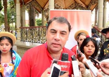 Foto archivo. Miguel Ávila, Alcalde de San Lorenzo.