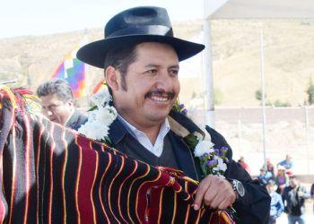 Gobernador de Chuquisaca, Esteban Urquizu
