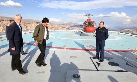 """Análisis Ciudadano: """"Presidente solo llega en su helicóptero como taxi"""""""