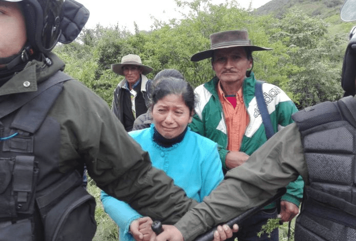 Por hidrocarburos: Gobierno Nacional arremete contra pueblo de Tariquía e ingresa por la fuerza a reserva de flora y fauna