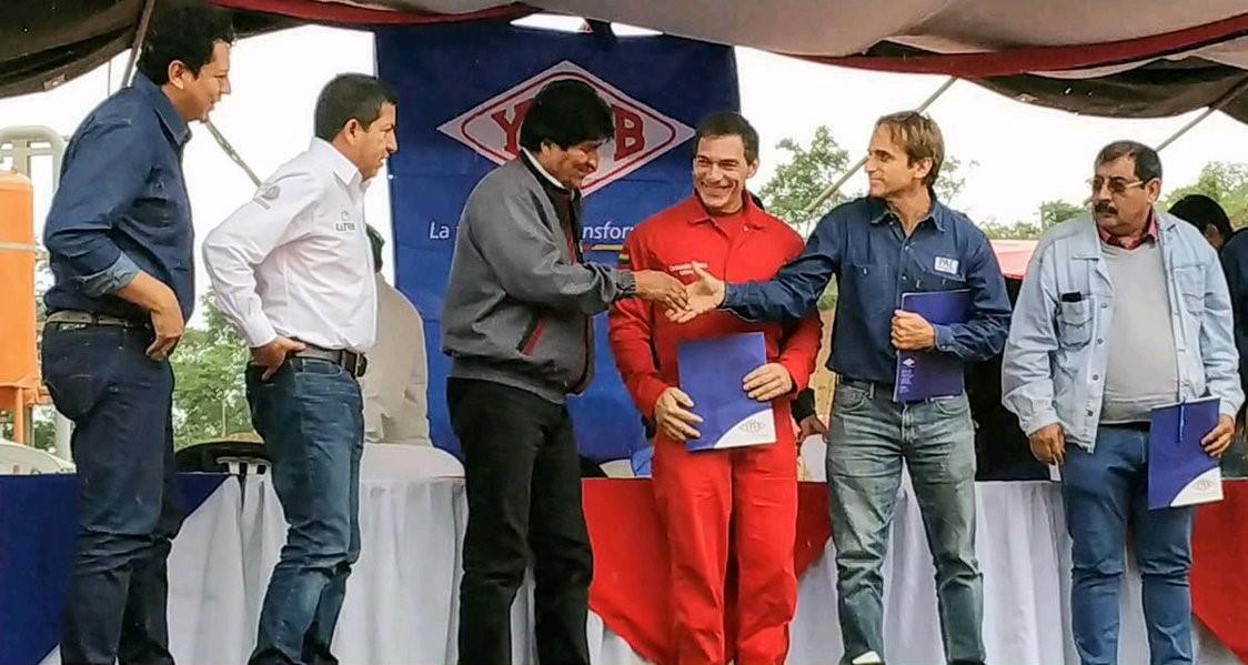 Presidente boliviano confirma reservorio gigante de gas en Tarija