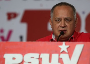 Diosdado Cabello. Foto archivo.