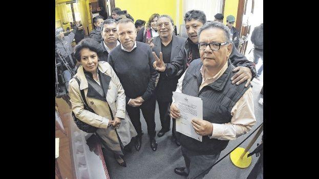 El emenerrista dijo que siete candidatos deben bajarse para que uno solo enfrente a Morales. Foto- APG NOTICIAS