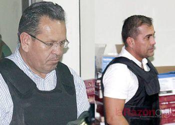 Gonzalo Medina y el Cap. Fernando Moreira. /APG