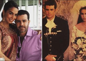 Eduardo Capetillo y Bibi Gaytán celebran sus bodas de plata, a 25 años de unir sus vidas en televisión (Foto: Especial)