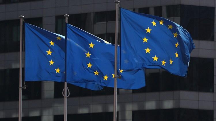 Bandera Unión Europea. Reuters