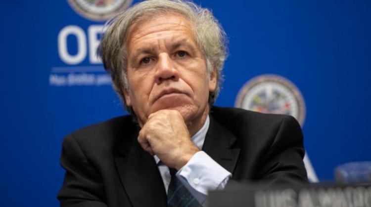 El secretario general de la Organización de Estados Americanos (OEA), Luis Almagro. | AFP