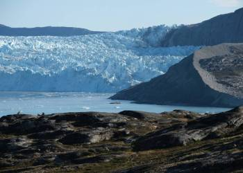 Deshielo de un glaciar en Groenlandia. SEAN GALLUP (GETTY IMAGES)