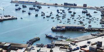 Instalaciones del Puerto de Arica en Chile. | APG