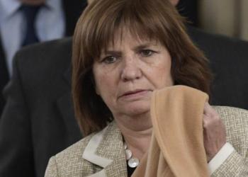 La ministra de Seguridad, Patricia Bullrich. | AFP