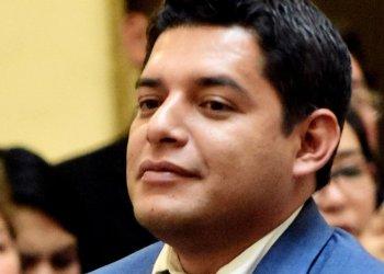 El ministro de Justicia y Transparencia Institucional, Alvaro Coimbra
