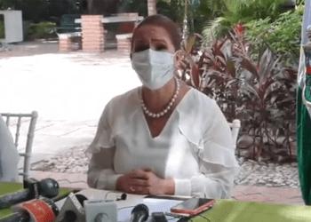 La alcaldesa Angélica Sosa