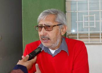 Jaime Márquez, presidente del Colegio Médico de Tarija. Crédito foto: El Periódico.