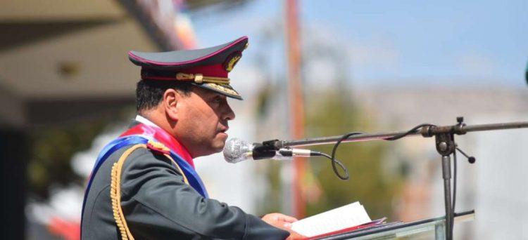El comandante de las Fuerzas Armadas, general Sergio Orellana