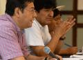El candidato presidencial del MAS, Luis Arce Catacora, junto al expresidente de Bolivia, Evo Morales. Foto- Facebook Lucho Arce.