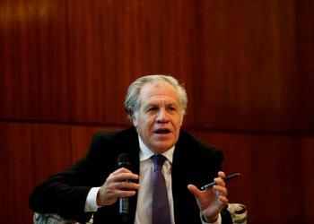 Luis Almagro es el secretario general de la OEA.