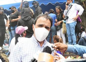 El Alto Comisionado de la CIDH, en Bolivia, en una visita anterior. | Carlos López