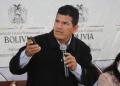 El ministro de Desarrollo Rural y Tierras, Wilson Cáceres.