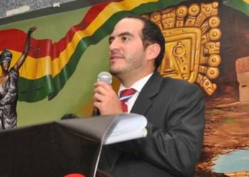 Jorge Valda, abogado del Comité Pro Santa Cruz