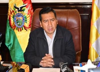 El presidente de la Cámara de Diputados, Freddy Mamani,