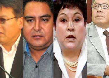 Exmagistrados del Tribunal Constitucional Plurinacional que aprobaron la reelección de Evo