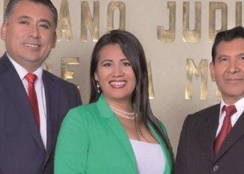 Los tres consejeros, Omar Michel, Dolka Gómez y Gonzalo Alcón