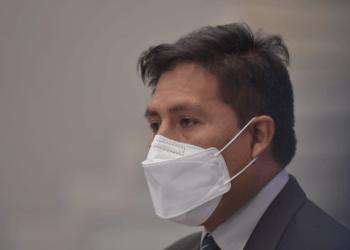 El Ministro de Salud, Jeyson Auza.