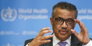 La OMS, que preside Tedros Adhanom Ghebreyesus, reaccionó con lentitud a los primeros informes sobre el coronavirus.